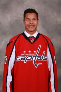 Defenseman Madison Bowey hopes to Rock the Red for the Washington Capitals. (photo: Washington Capitals/Getty Images)