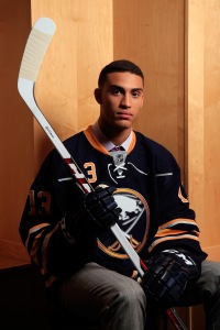 Winger Justin Bailey gets drafted by hometown Buffalo Sabres (Photo: Jamie Squires/Getty Images)