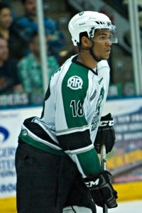 Justin Wade played in Fargo, N.D., and Cedar Rapids, Iowa, before landing at Notre Dame. Is NHL next?