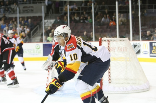 Erie Otters' Stephen Harper played for Cyril Bollers