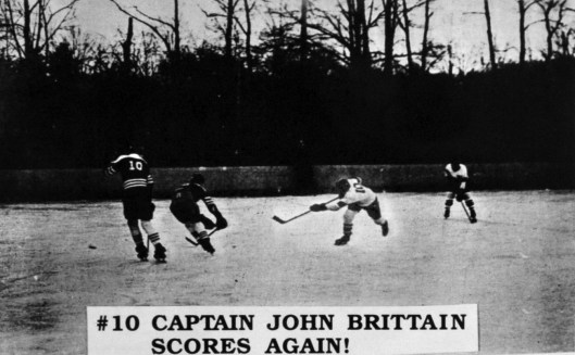 John Brittain lets it fly in 1962.