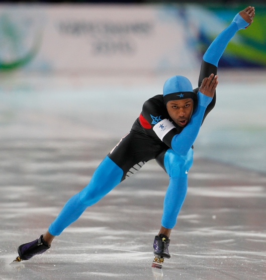Shani Davis is  hunting for more Olympic hardware in Sochi. (Harry E. Walker/MCT)