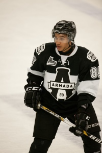 Armada's Daniel Walcott hopes to make leap from college club hockey to NHL.