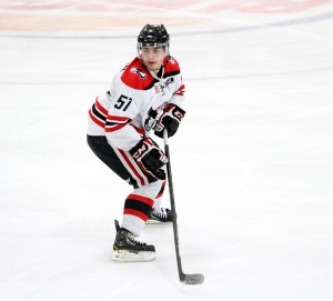 Mark Friedman hopes to join Montour in NHL after college (Photo/Britta Lewis)