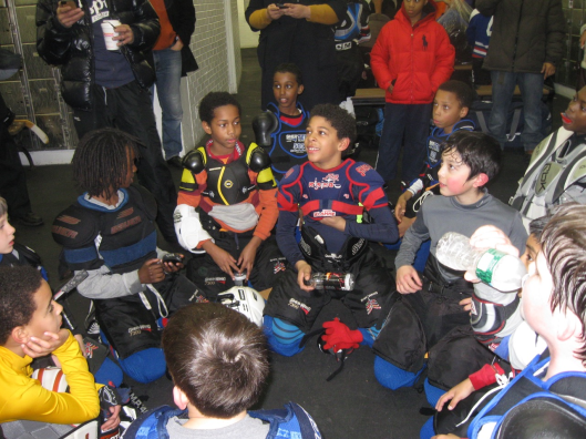 Ice hockey in harlem gets the perfect holiday gift the repair and