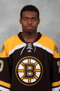 Goalie Malcolm Subban awaits first NHL start.