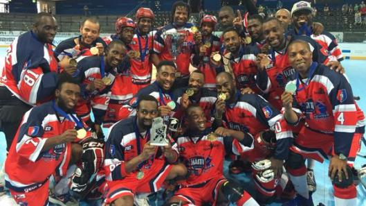 Do you believe in miracles?  Haiti does after winning international street hockey title.
