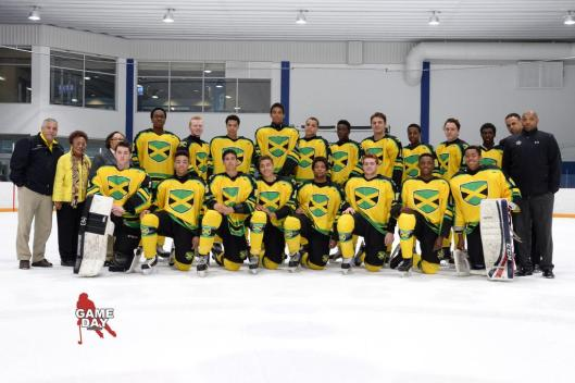 Jamaica's exhibition hockey team fell one win short of a tournament championship over the weekend (Photo/@GameDayPhoto).