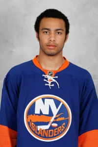 IceDogs' Josh Ho-Sang, a N.Y. Islanders draft pick, met Akil Thomas after OHL draft.