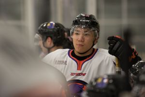 Ohio is Japan's Yushiro Hirano's new hockey home (Photo/Bill Paterson).
