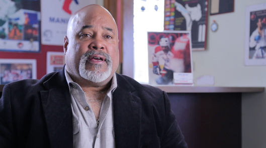 Former Washington Capitals forward Mike Marson shares his experience as the NHL's second black hockey player in the documentary.