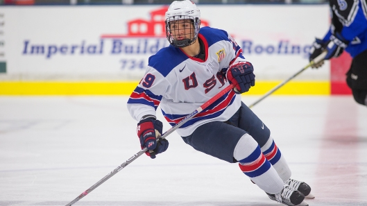 Miami's Randy Hernandez will represent the U.S. this week in a four-nation hockey tournament in Slovakia (Photo/Rena Laverty).