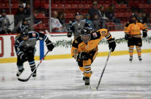Boston Pride defenseman Blake Bolden in action (Photo/Kaitlin S. Cimini).