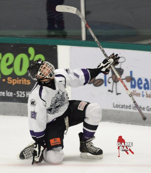 Kyle Bollers scored 29 goals in 46 regular season games for the USPHL Hounds (Photo/Jay Johnston/Game Day)
