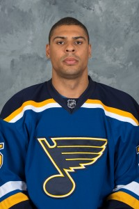 St. Louis Blues forward Ryan Reaves.