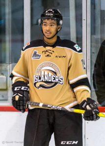 Charlottetown Islanders' Pierre-Olivier Joseph.