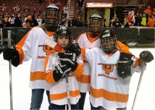 Youth hockey foundation out raised new york s ice hockey in harlem